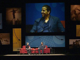 David Blaine Q&A at The Richmond Forum