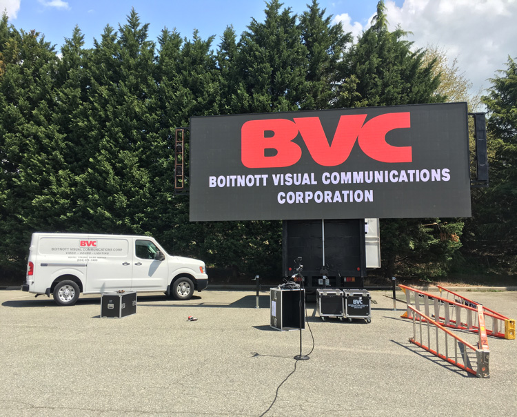 LED screen BVC